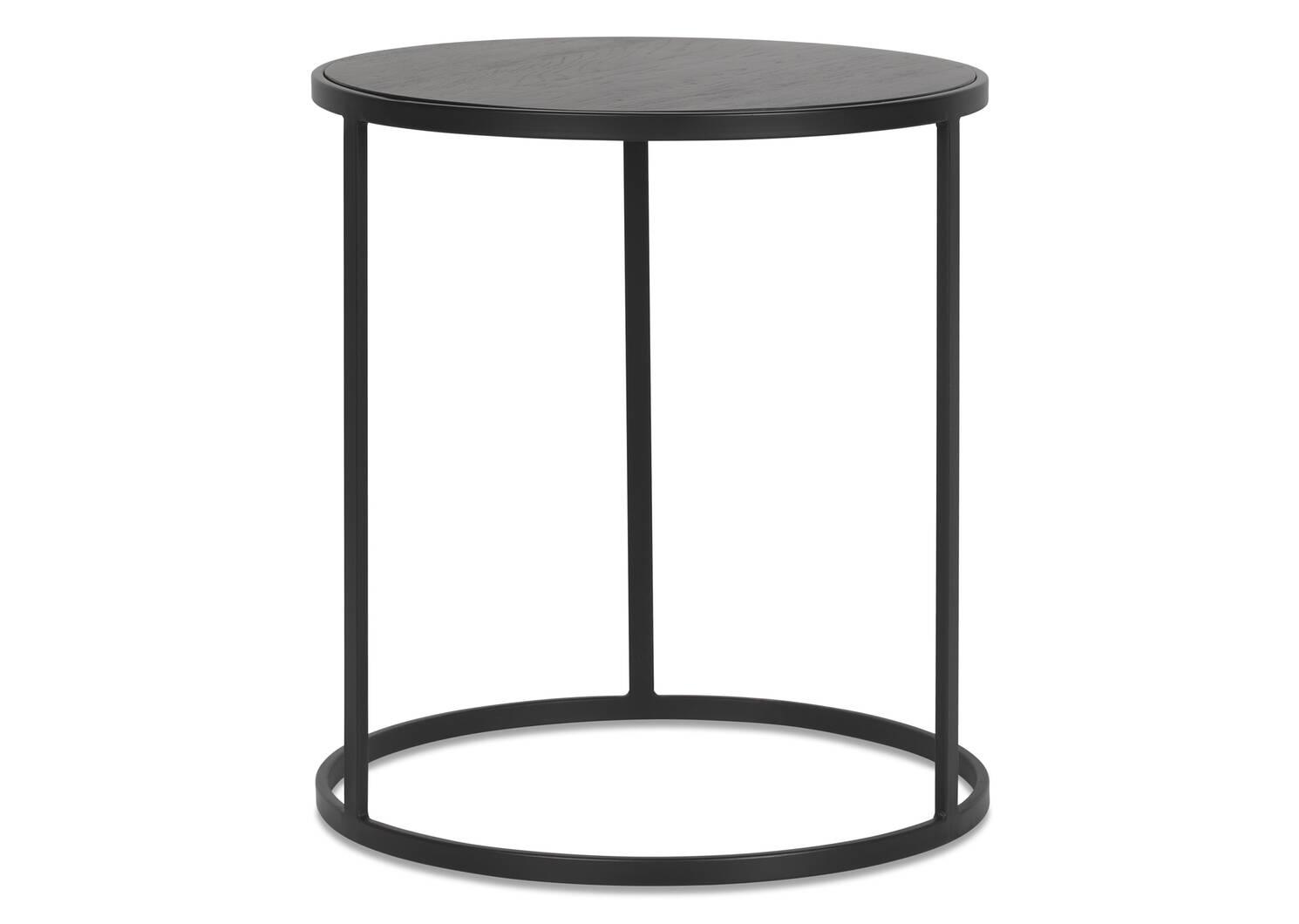 Madera Side Table -Carbon