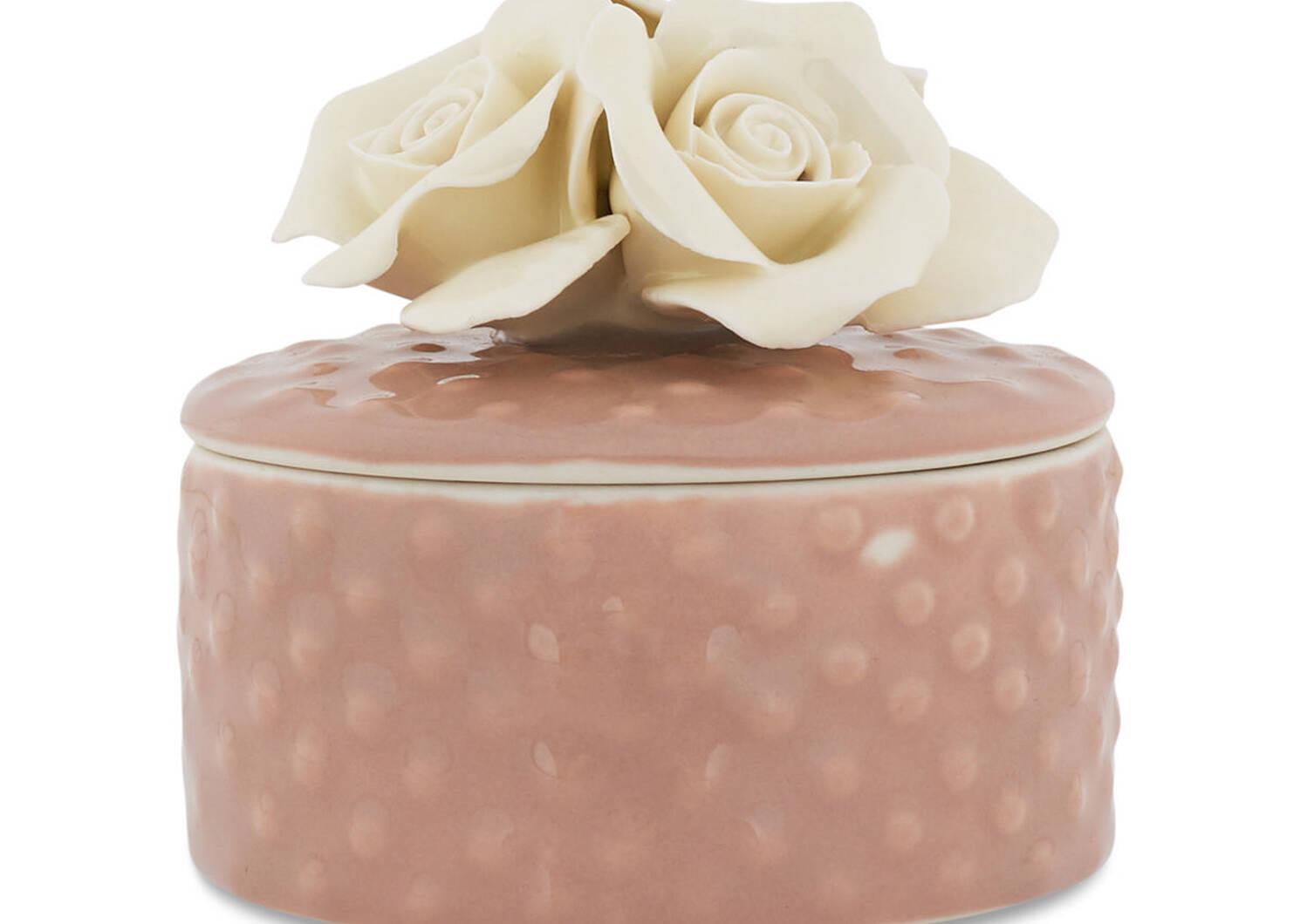 Alyssa Jewelry Box Milk/Ballet Pink
