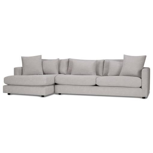 Berg Sofa Chaise -Aiden Platinum