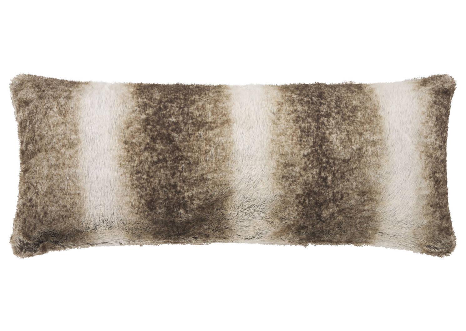 Habitat Faux Fur Toss 14x36 Mink