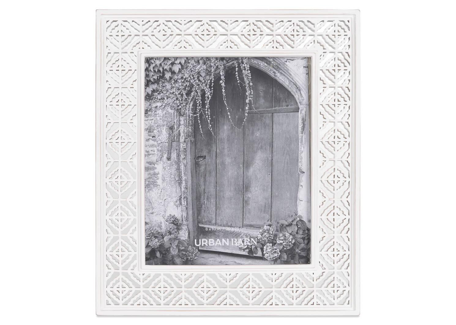 Raelynn Frame 8x10 White