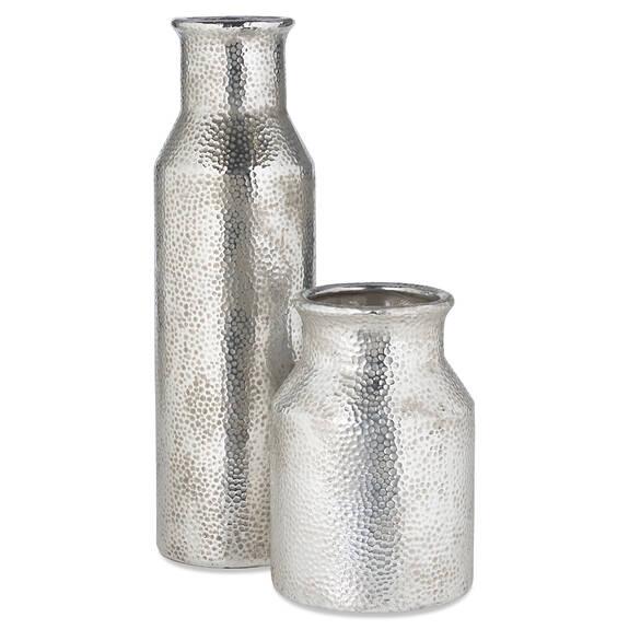 Vases Carlile -argentés