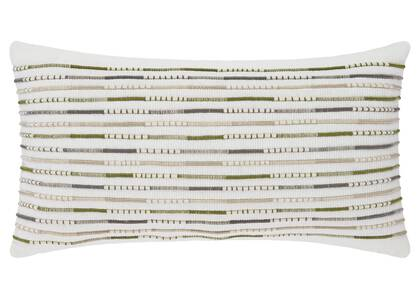 Buena Toss 12x22 Ivory/Green/Grey