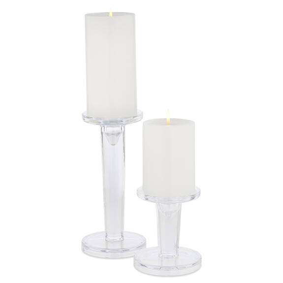 Alise Candle Holders Clear