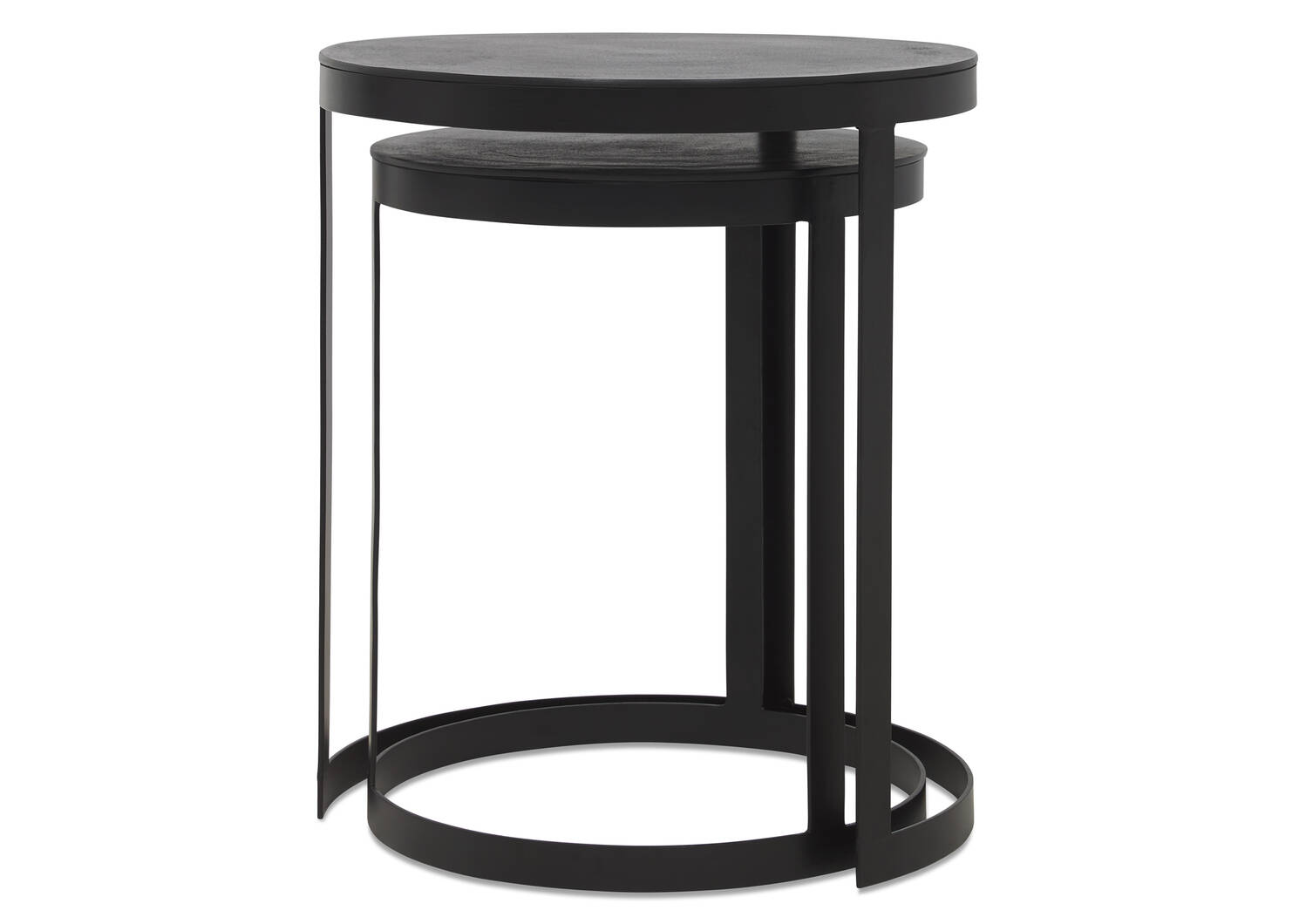 Tables d'appoint gigognes Irwin -bronze