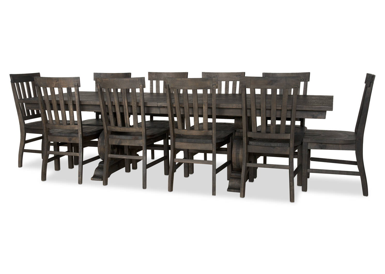 Churchill Ext Dining Table -Carob