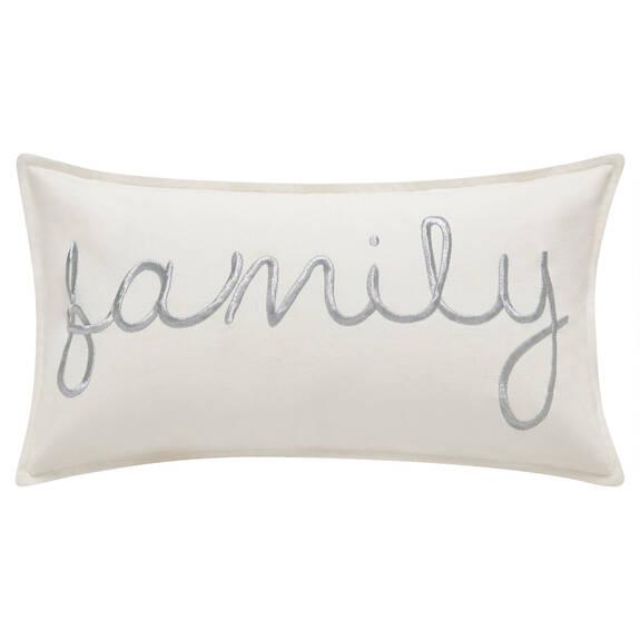 Family Toss 12x22 White