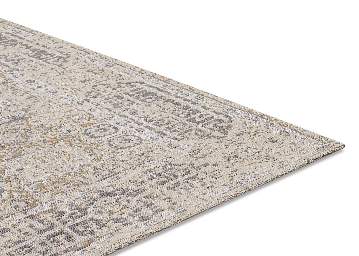 Tapis Azusa 96x120 sable/ivoire/gris