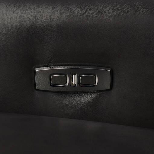 Encore Leather Recliner -Bram Coal