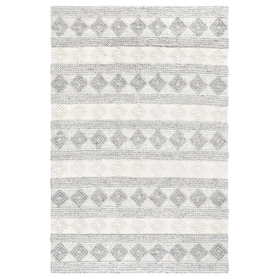Arkun Rug 60x96 White/Grey