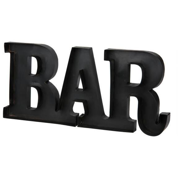 Bar Decor Black