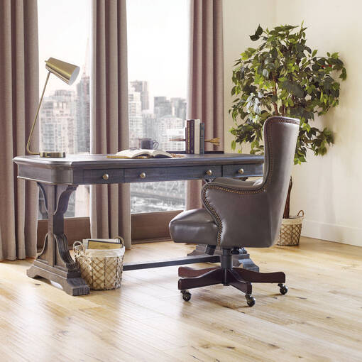 Windsor Office Chair -Lakeshore Grey