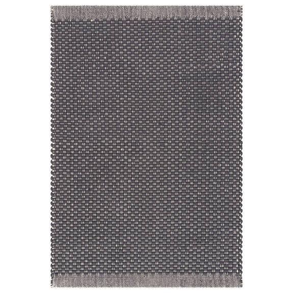 Dorset Accent Rug - Dark Grey/Natural