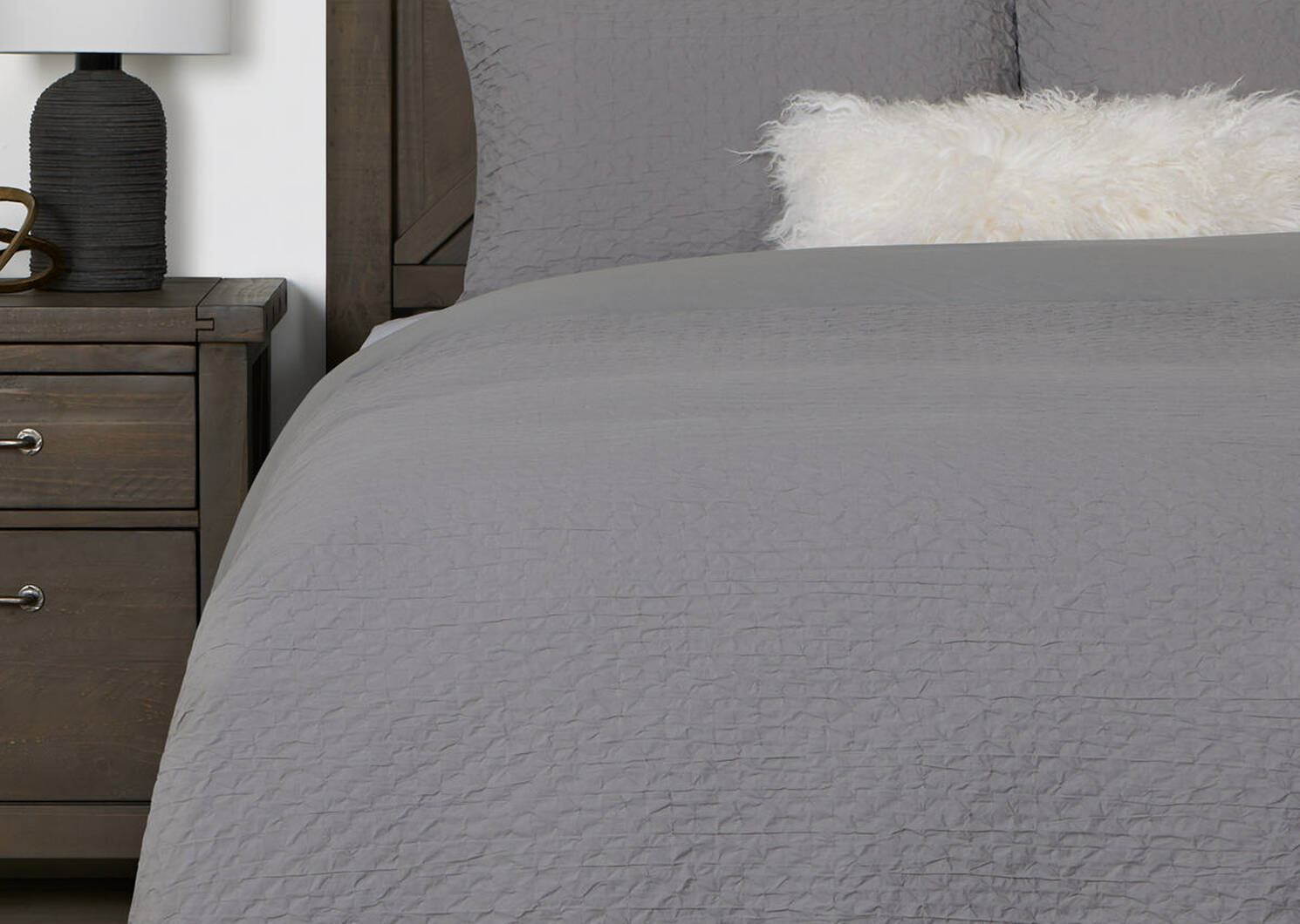 Darcy Duvet Set King Pebble