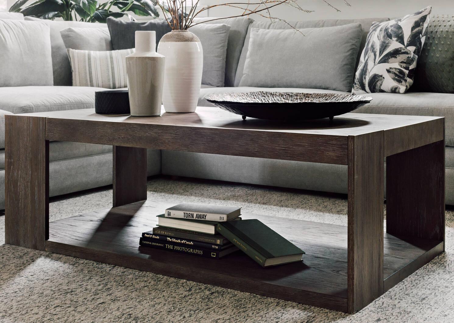 Quattro Coffee Table -Arie Adobe
