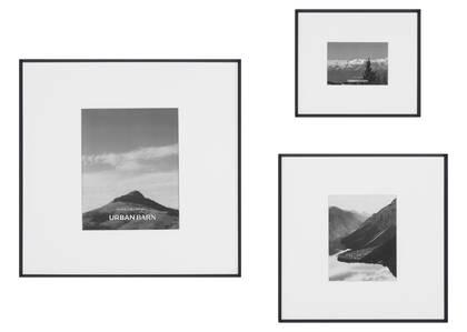 Russo Gallery Frames Black