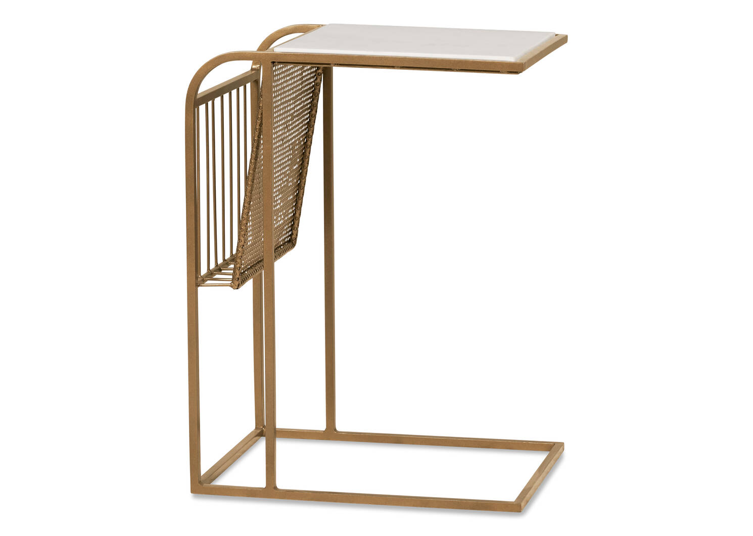 Perkins Tuck Table -Simba Brass