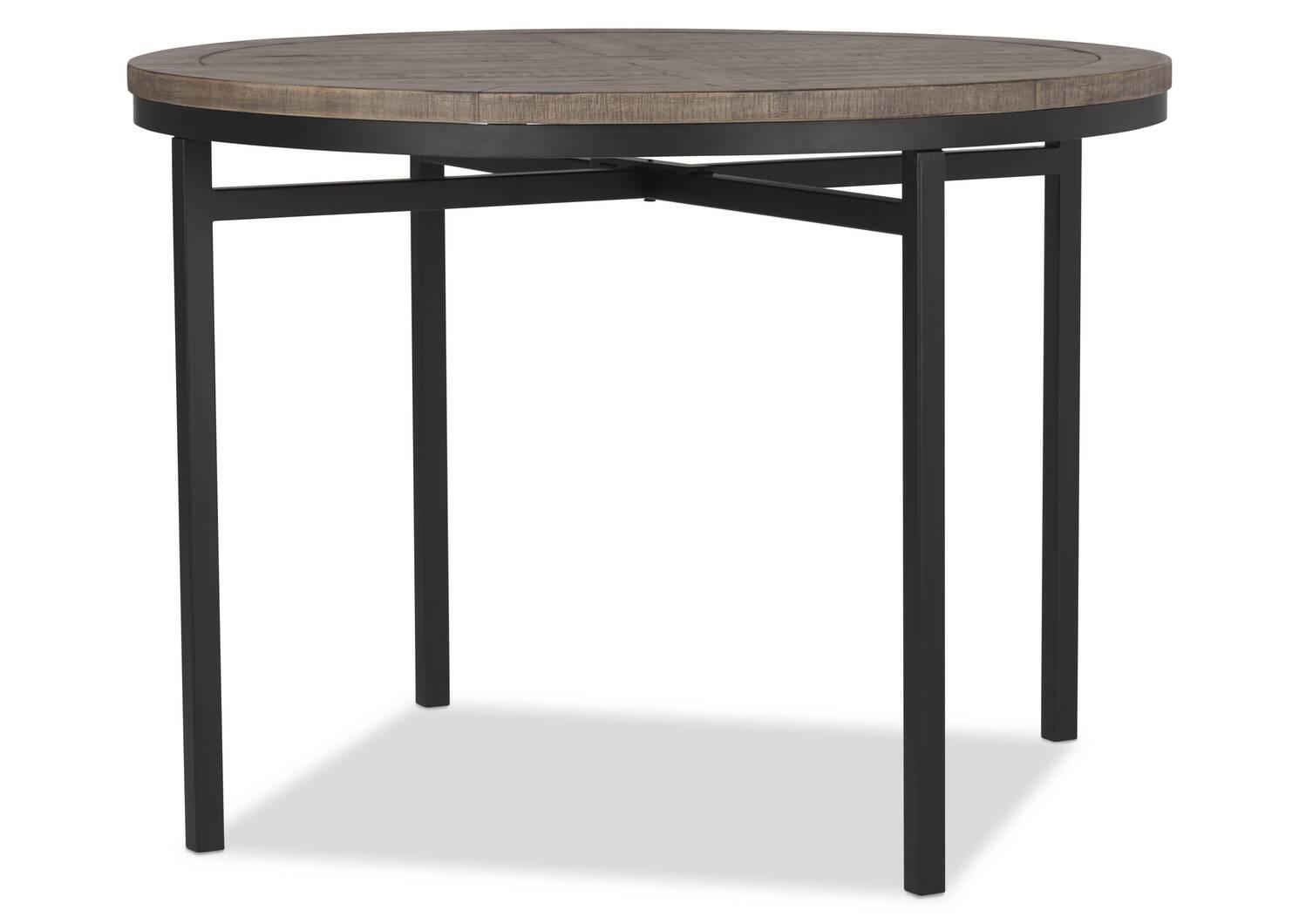 Table Brody -Stanton bois de grève