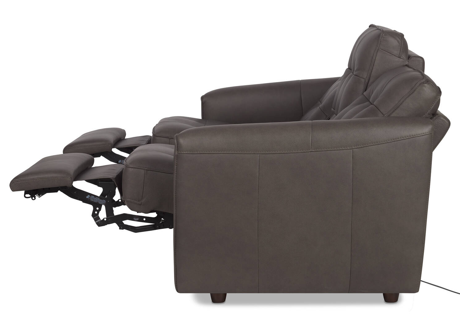 Payton Leather Reclining Sofa -Ashby Stn