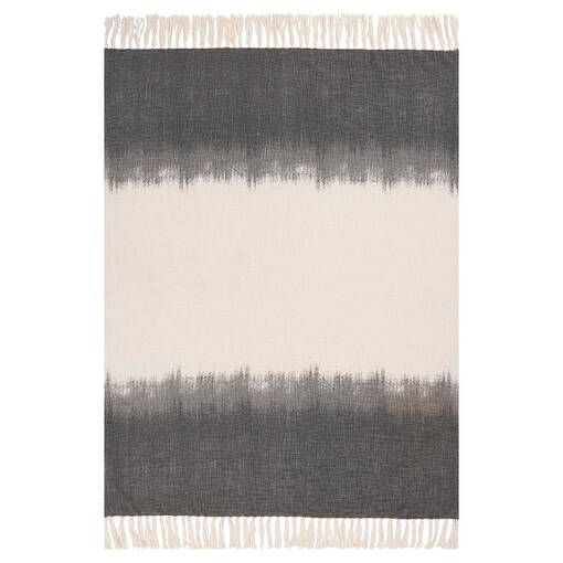 Zamora Ombre Throw Grey