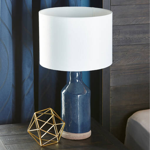 Benno Table Lamp Navy