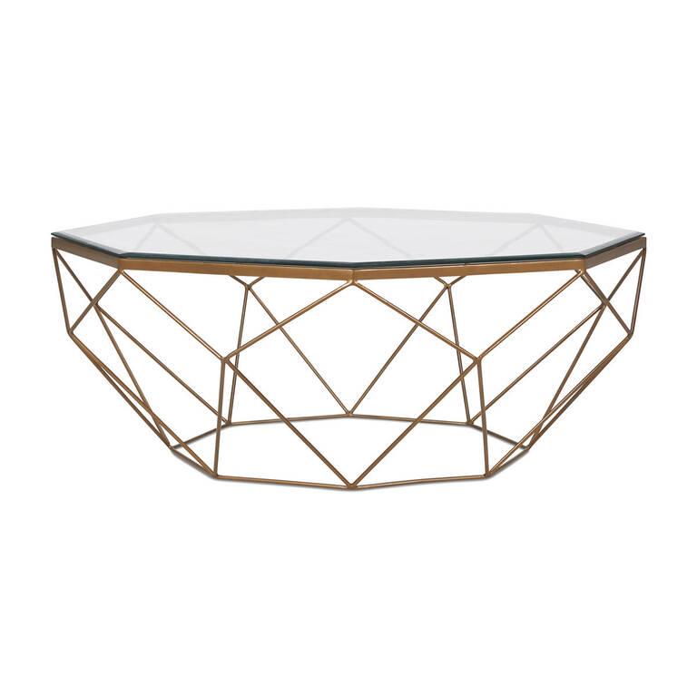 Stella Coffee Table -Brass