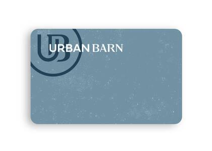 Urban Barn E-Gift Card, Generic 25