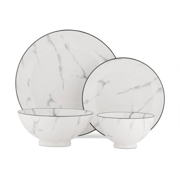 Carrara 16 pc Dish Set