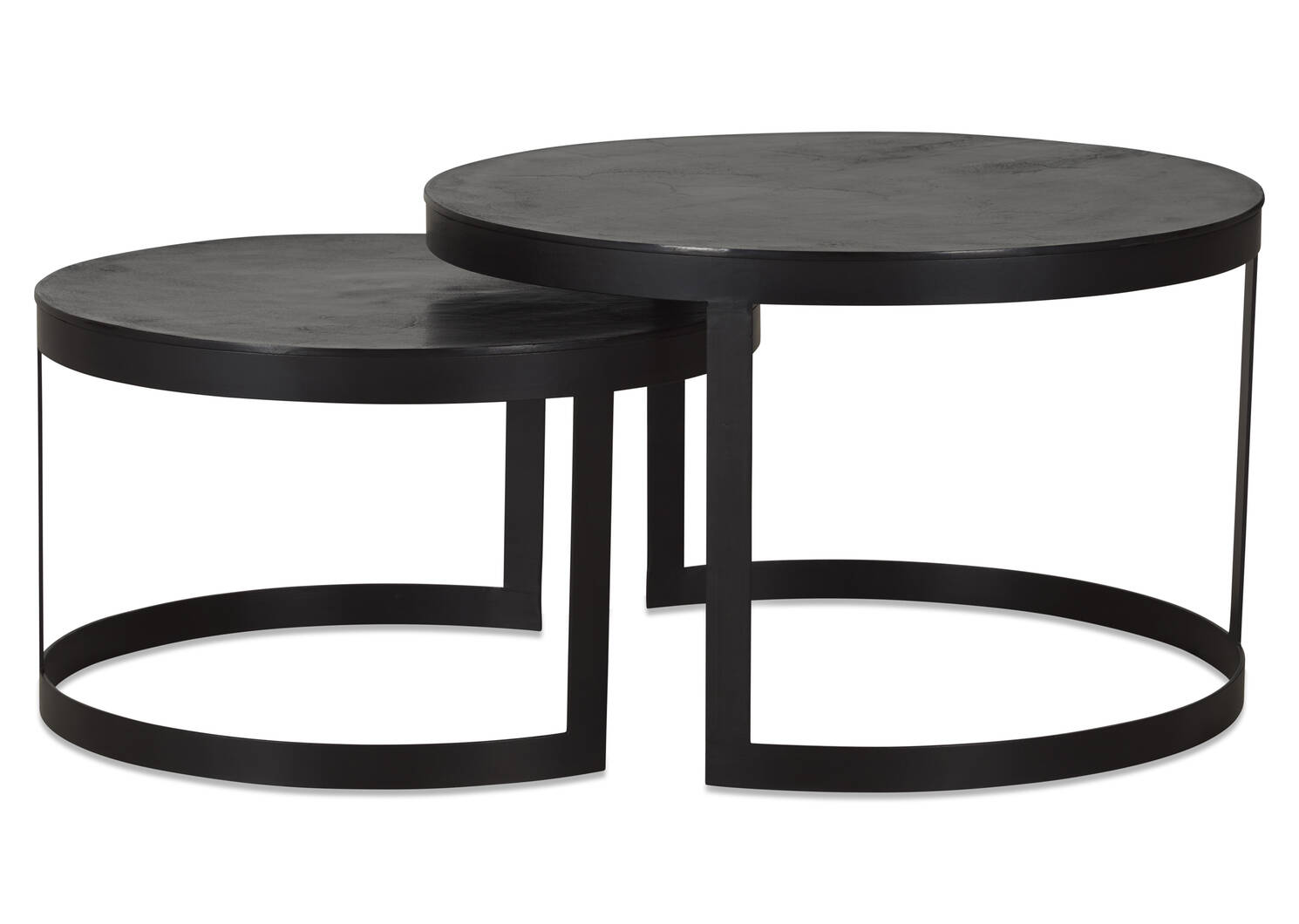 Irwin Nesting Coffee Table Set -Bronze
