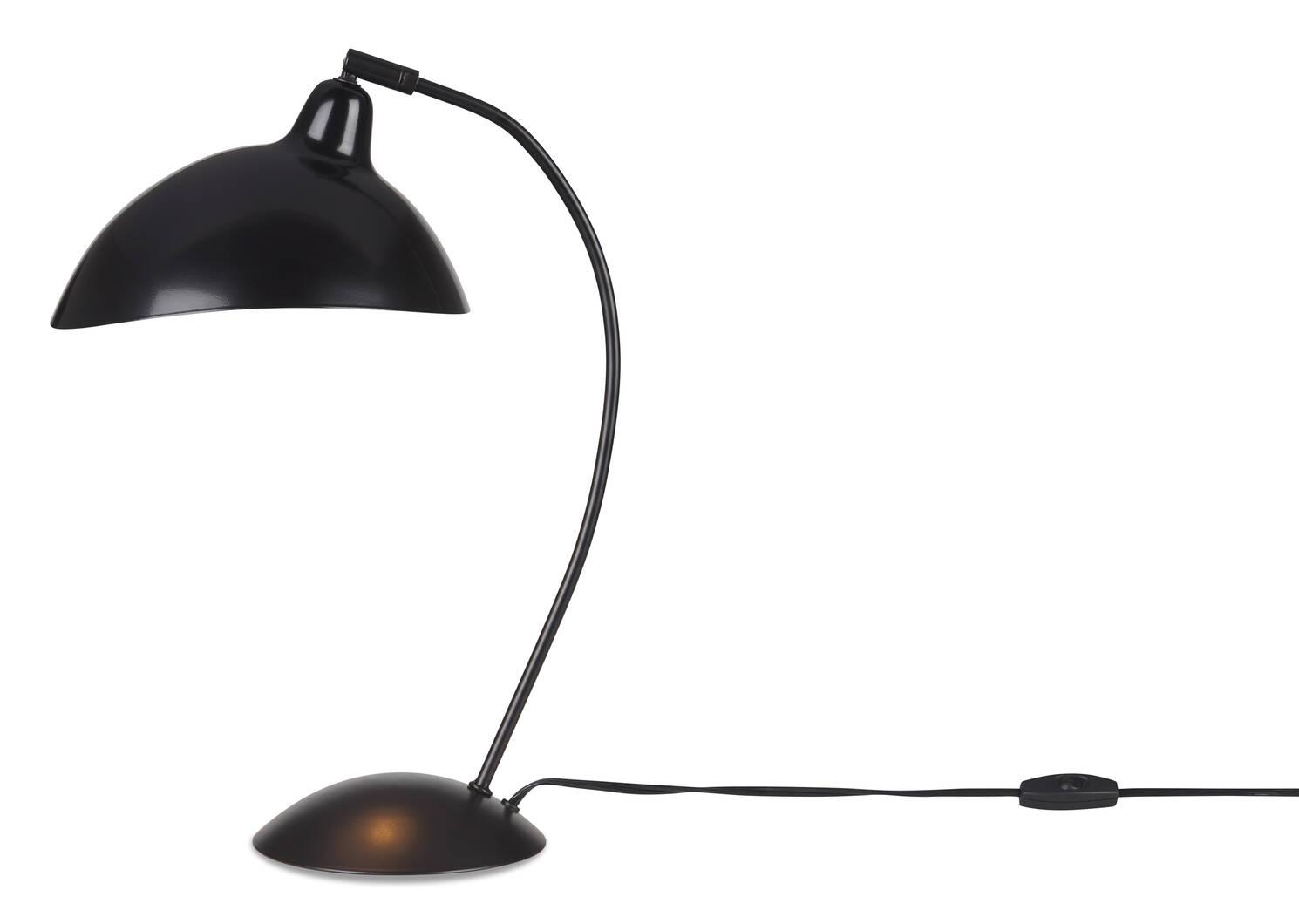 Lampe de bureau Friedrich noire
