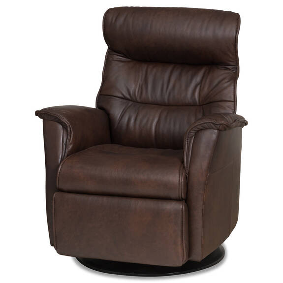 Paramount Leather Recliner -Sol Truffle