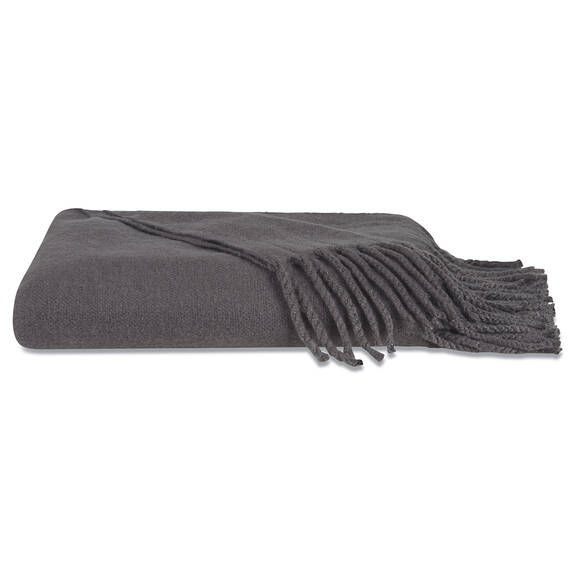 Downey Brushed Throw Cobble