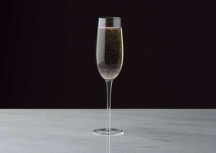 Flûte à champagne Joie bleue