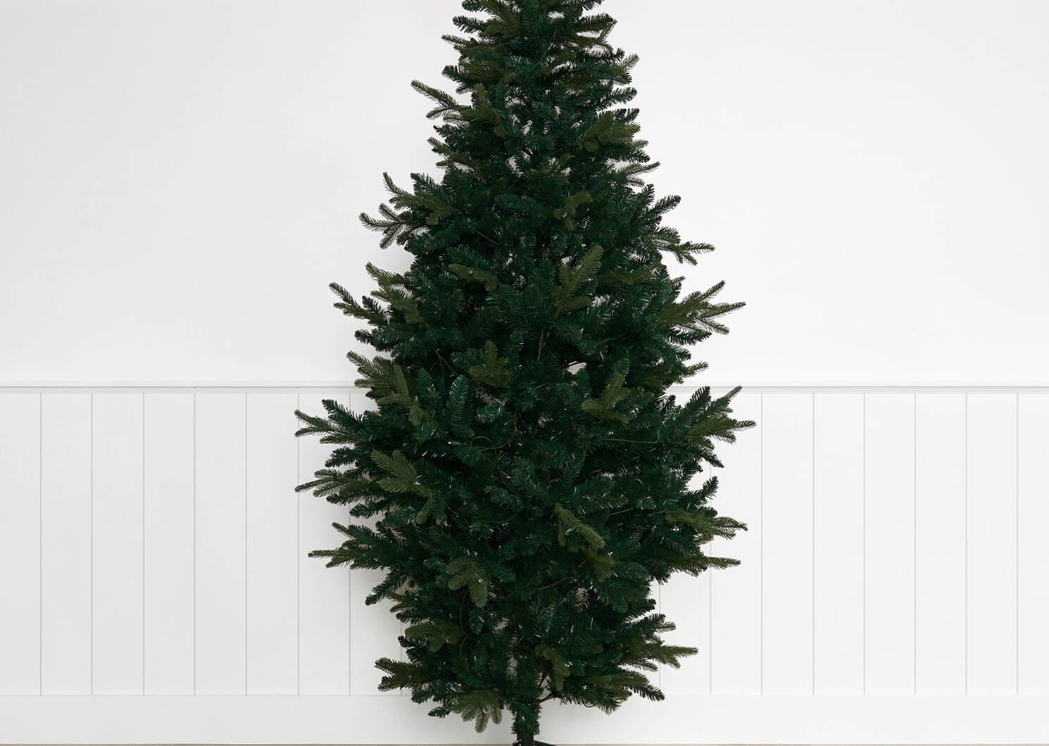Claus Tree 7.5ft Rustic Pre-lit LED G