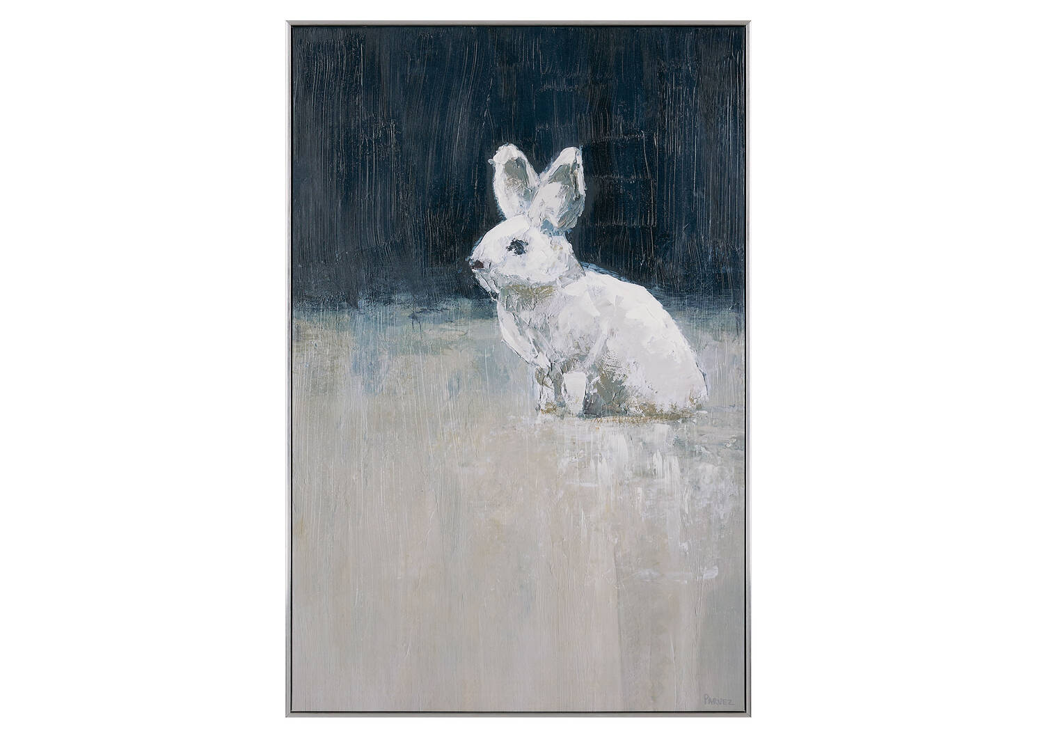 Toile Lone Hare (lièvre solitaire)