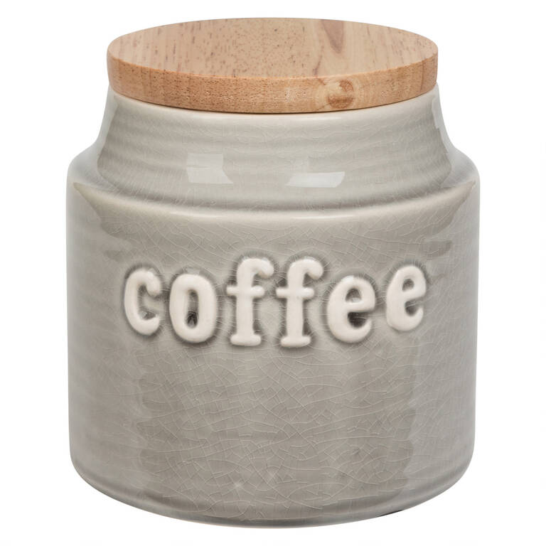 Lilian Coffee Canister Grey