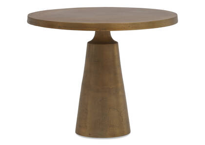 "Gershwin Side Table 24"" -Brass"