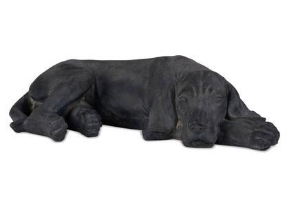 Statuette de chien couché Mulligan