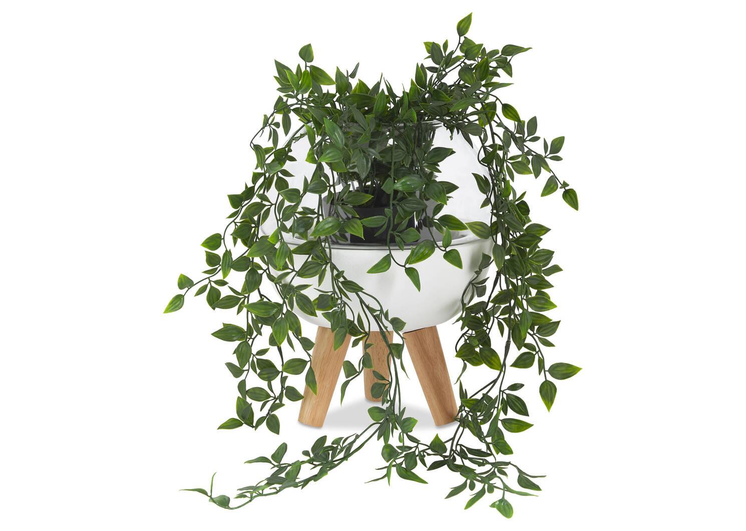 Cache-pot Madelyn blanc