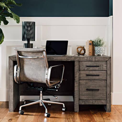 Fauteuil de bureau Swift -gris vintage