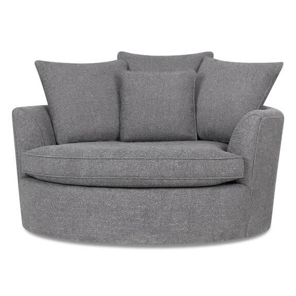 Fauteuil Nest -Remi nickel