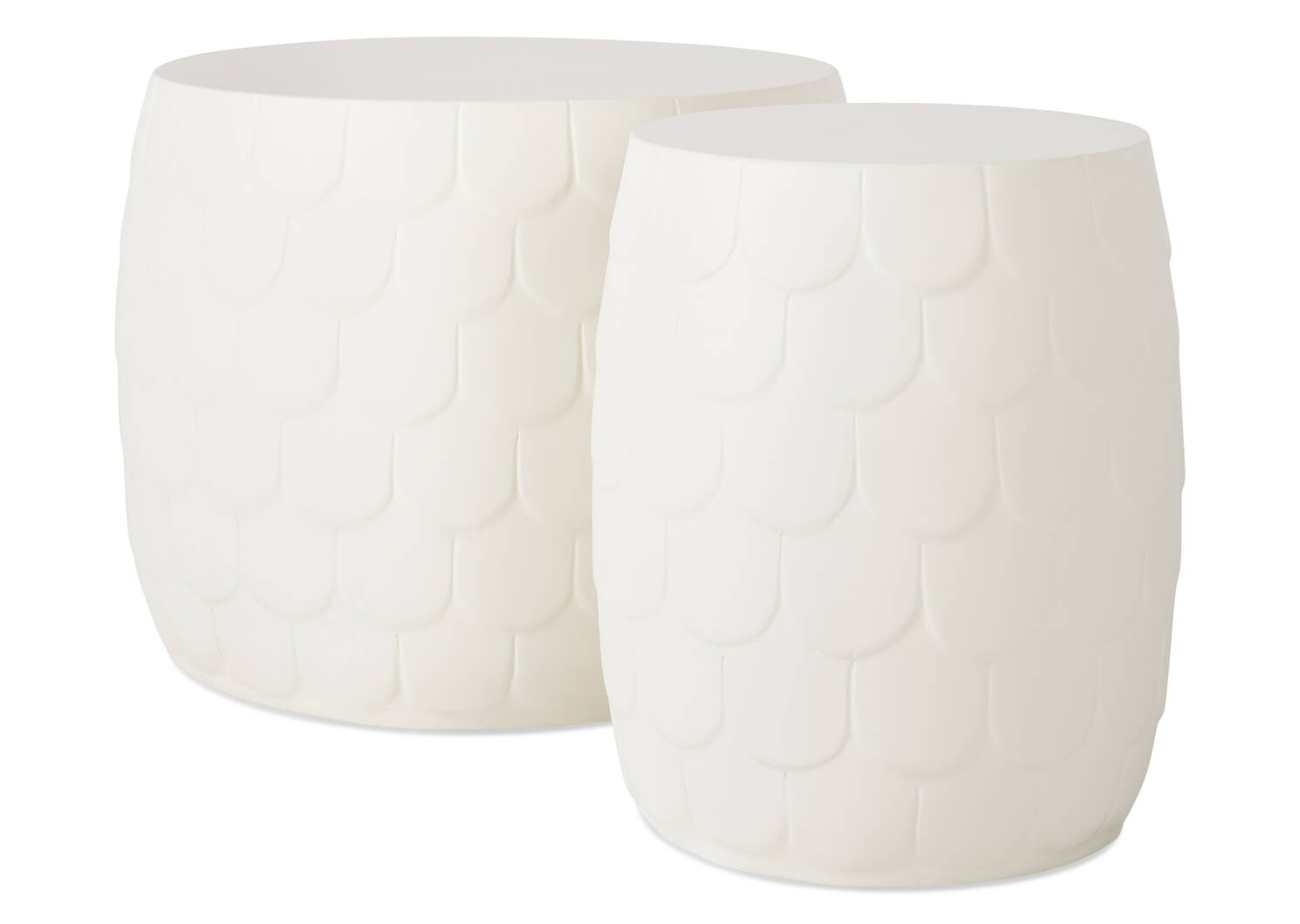 Lorie Side Table -Azores Cloud