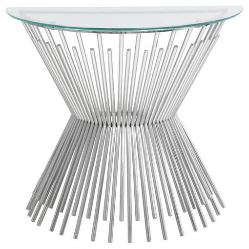 Carlisle Console Table -Glass