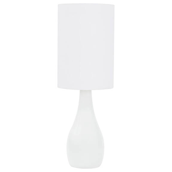 Lampe de table Naomie blanche