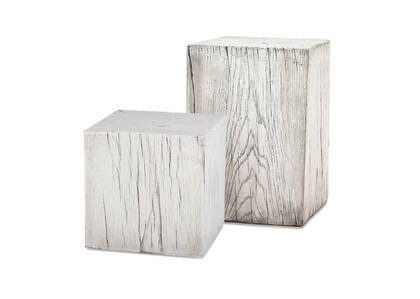 Breaden Indoor Outdoor Stool - White