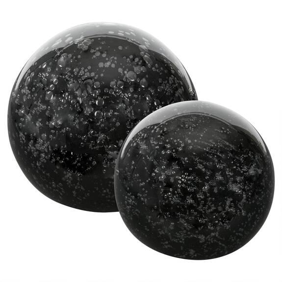 Anora Glass Balls - Black