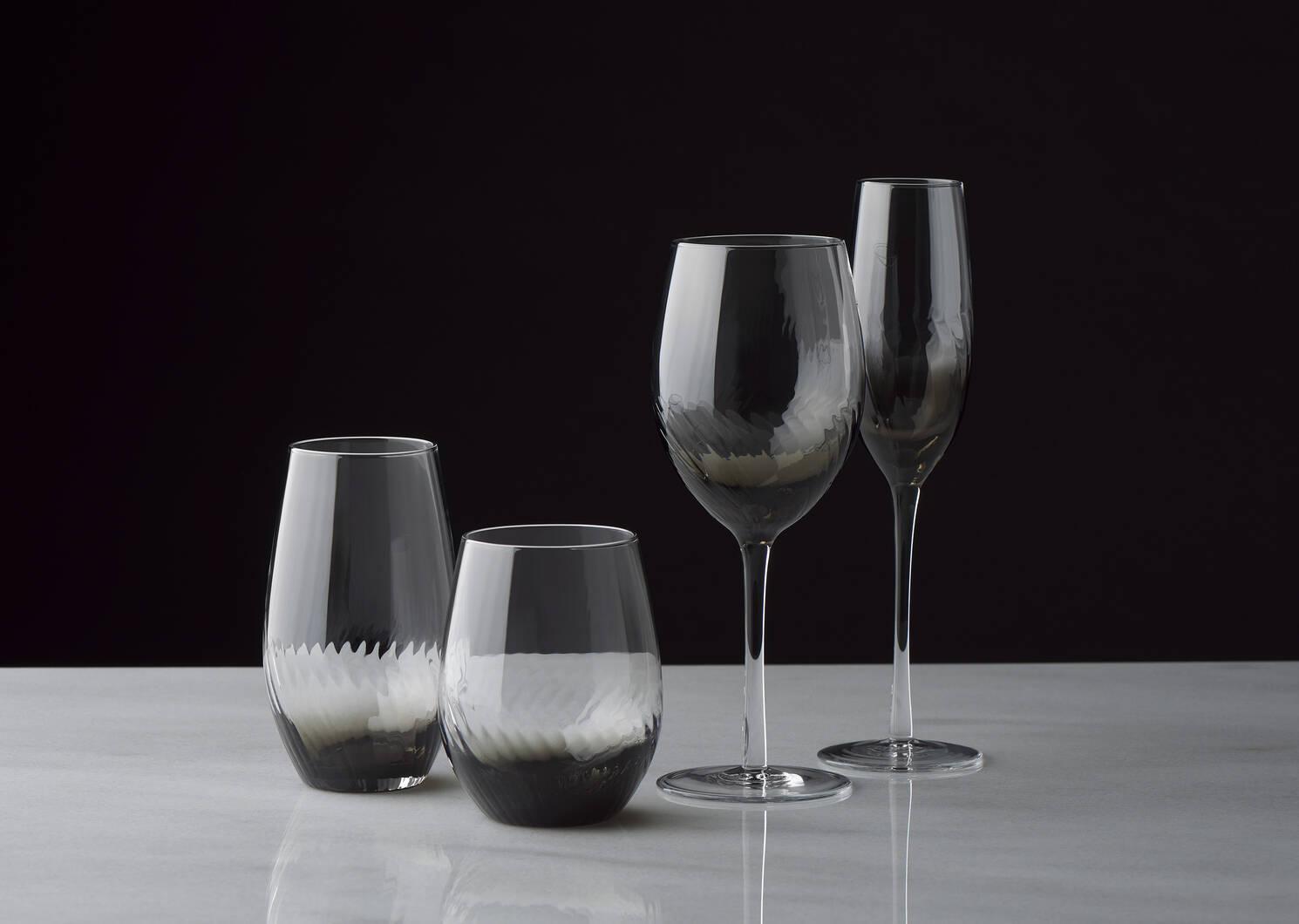 Revel Champagne Flute Grey