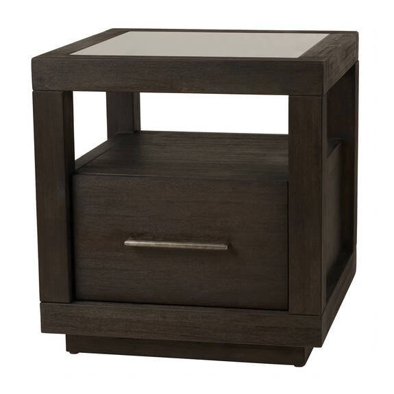 Gatsby Side Table -Morel Acacia