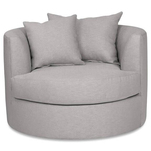 Cuddle Custom Swivel Chair