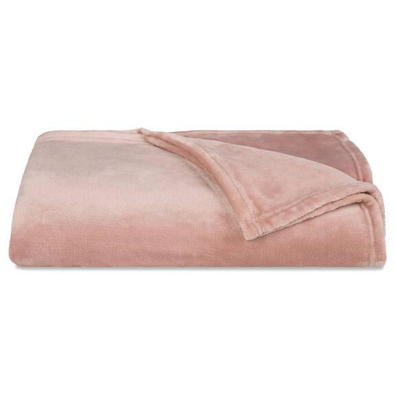 Cozy Lux Throw Ballet Pink